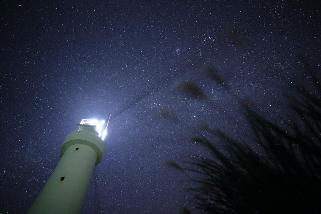 平久保灯台 石垣島 星