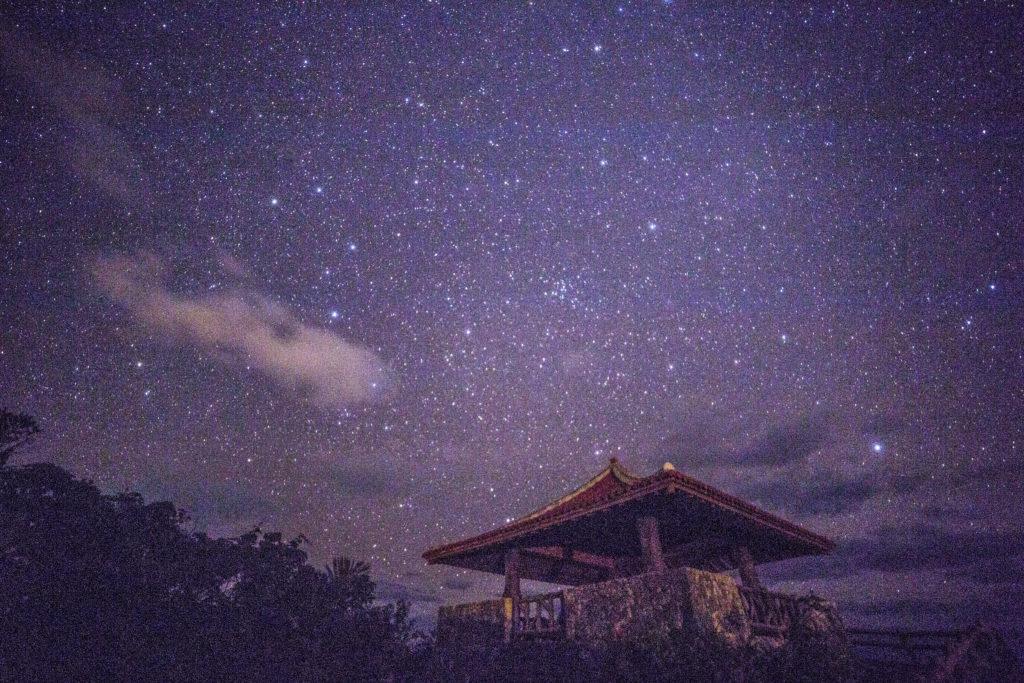 石垣島 玉取埼展望台の星