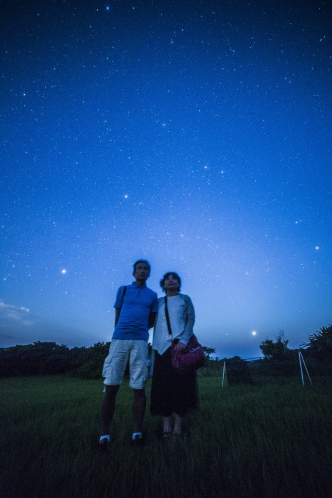 一六夜の星空ツアー