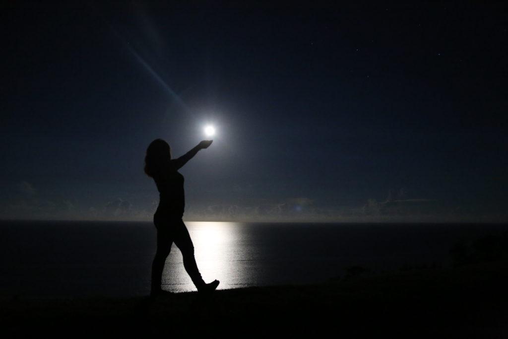 石垣島 久宇良 満月 流れ星の丘