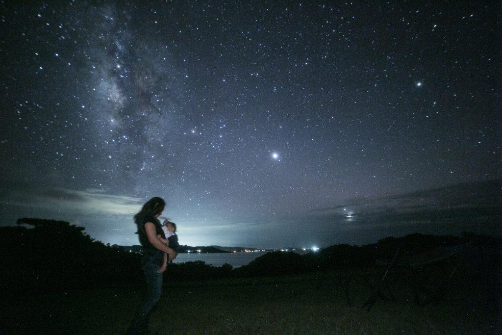 石垣島の星空保護区のマタニティフォト