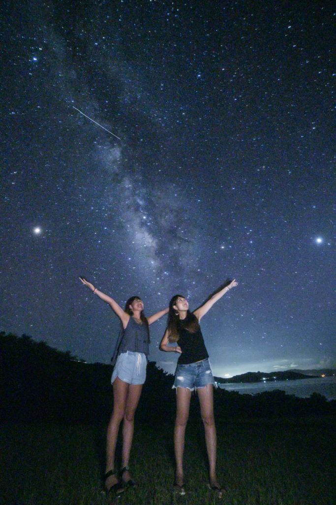 石垣島の星空保護区の星空ツアー