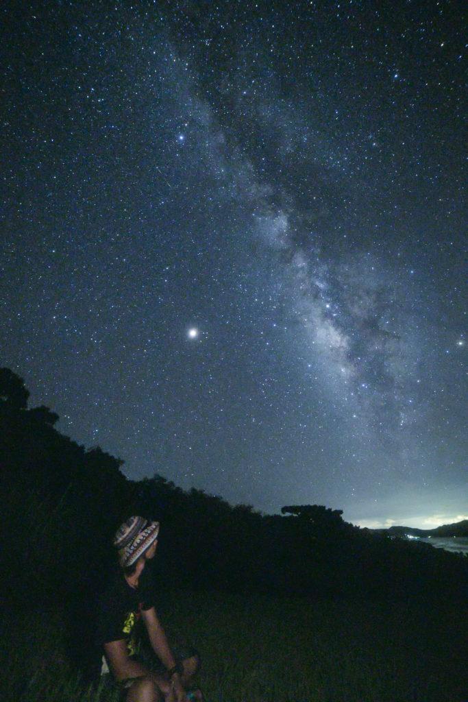 壮大な宇宙を感じる場所石垣島の星空保護区