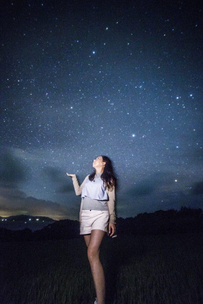 石垣島星空ツアー流れ星の丘フォト