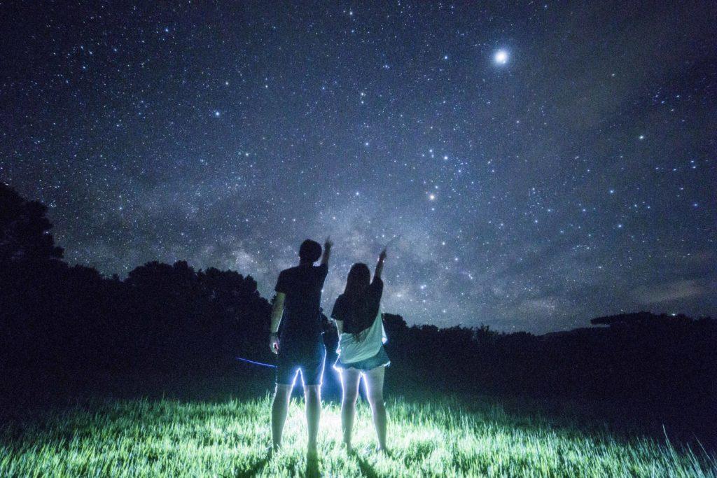 天の川の出と星空フォト石垣島