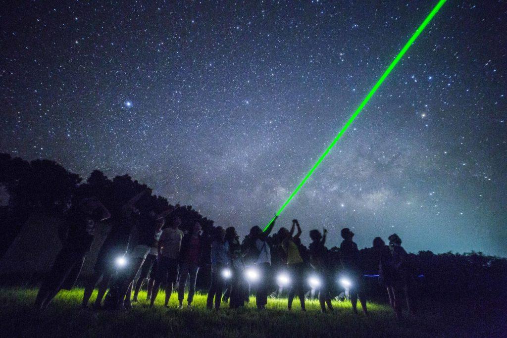 石垣島の星空ツアー流れ星の丘