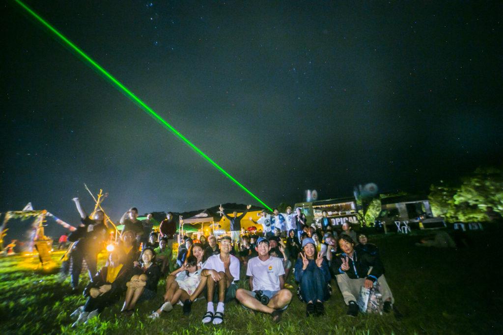 石垣島久宇良流れ星の丘キャンプイベント