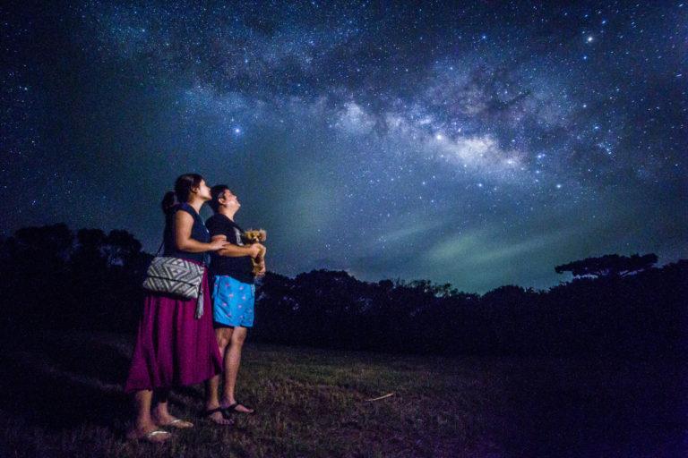 石垣島星空保護区の星空ツアー【流れ星の丘