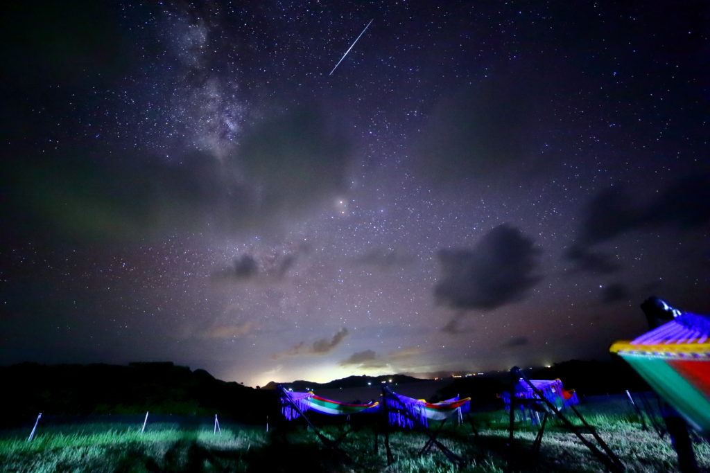 石垣島星空流れ星の丘